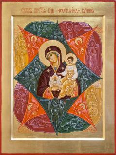 Образ Пресвятой Богородицы Неопалимая Купина