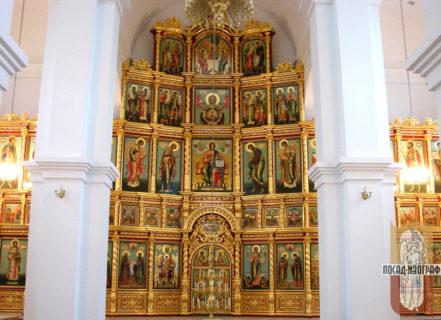 Иконостас для храма в честь препп. Афанасия и Феодосия Череповецких —  г. Череповец