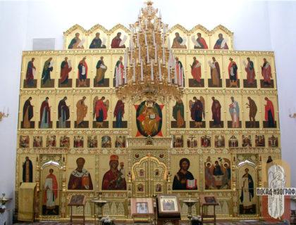 Иконостас в храм Живоначальной Троицы  в Черемушках, г. Москва