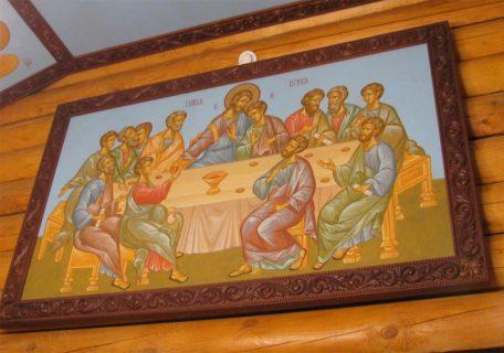 Роспись объектов храма Державной иконы Пресвятой Богородицы, пос. Горки-9