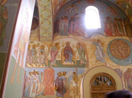 Роспись Храма в честь Пресвятой Троицы, г. Казань