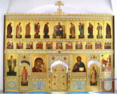 Иконостас для храма в честь Казанской иконы Божией Матери, г. Гавана — Куба