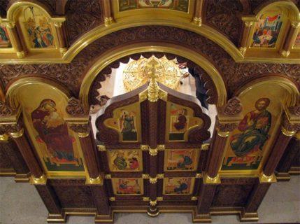 Иконостас в храм Архангела Михаила, г. Малоярославец
