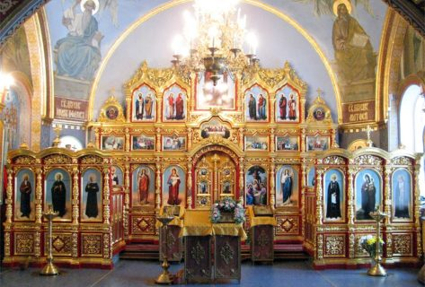 Иконостас в Свято-Троицкий храм, Челябинская обл, г. Миасс