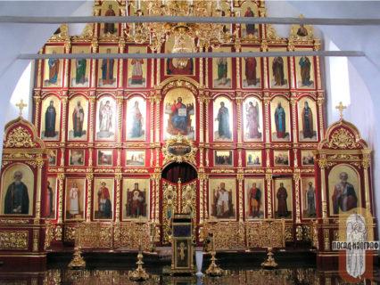 Иконостас для храма в честь Архангела Михаила в Михалях в Суздале