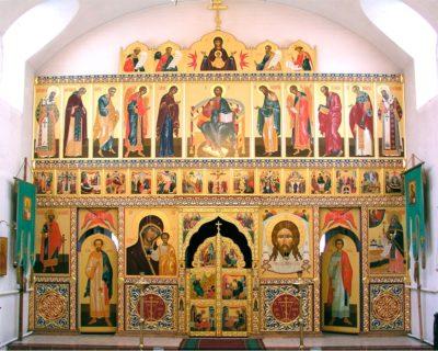 Иконостас в храм в честь муч. Константина Богородского в Ногинске