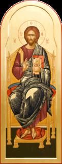 Икона «Спаситель на троне»