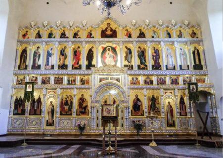 Иконостас для храма Усекновения Главы Иоанна Предтечи, г. Суздаль