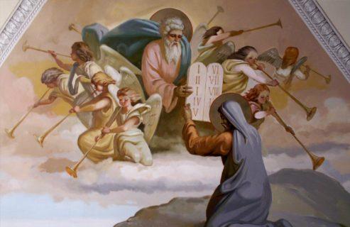 Роспись Храма в честь архангела Михаила в Михалях, г. Суздаль