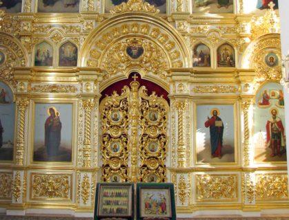 Иконостас для храма в честь Св. Блгв. Кн. Александра Невского, г. Тверь