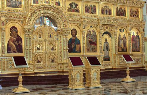Иконостас для собора Рождества Христова в Южно-Сахалинске