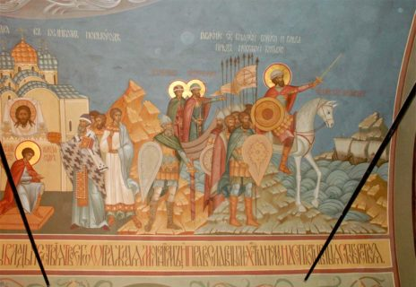 Роспись храма в честь святого благоверного князя Александра Невского, г. Владимир