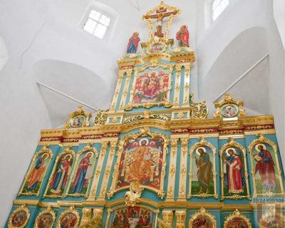 Иконостас для храма в честь преп. Алексия человека Божия, г. Воронеж.