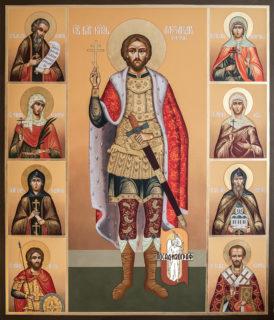 Икона «Св. князь Александр Невский»