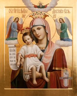 Икона «Образ Пресвятой Богородицы «Достойно есть»»