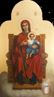 Икона «Божия Матерь на престоле»
