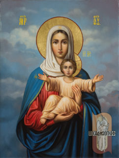 Икона Божией Матери «Леушинская»
