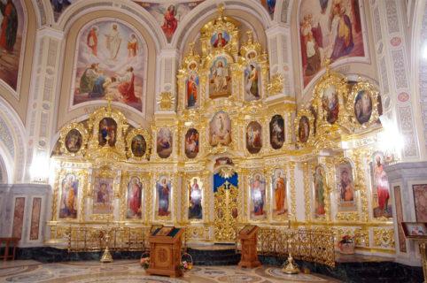 Иконостас в Храм Иверской иконы Божией Матери г. Ижевск
