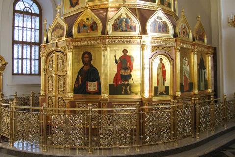 Иконостас — кувуклия в церковь Св. Троицы в с. Н. Муллы Пермского района