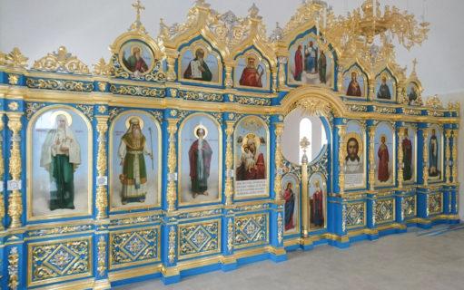 Иконостас Верхнего Храма в Церковь Иконы Божией Матери «Достойно Есть» г. Углич