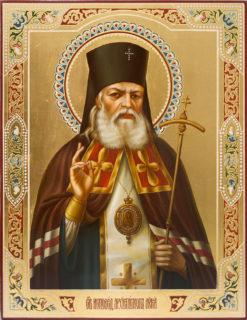 Икона «Святитель Лука, исповедник, архиепископ Симферопольский»