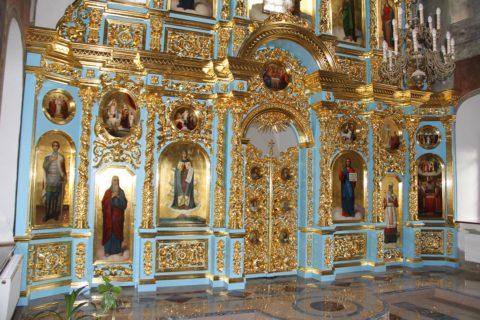 Иконостас в церковь иконы Божией Матери «Знамение», Суздаль