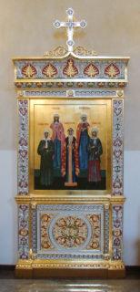 Киот в церковь иконы Божией Матери «Знамение», Суздаль