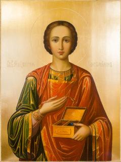 Икона «Пантелеимон целитель»