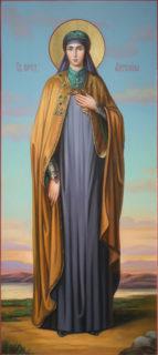 Мерная икона «Святая блаженная Ангелина Сербская»