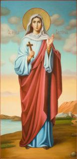 Мерная икона «Святая Виктория»